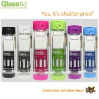 Glasstic Water Bottle / Botol Minum Plastik