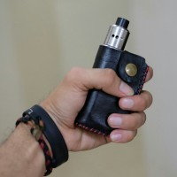 Leather case for mod Therion DNA 75/133 vape, vaporizer, case kulit