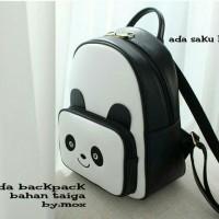 Tas Panda Backpack Grosir Tas/sepatu/baju Wanita Murah