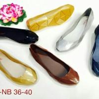 harga BARA BARA Fashion Flat Shoes Sepatu Prisma Jelly Wanita Tokopedia.com