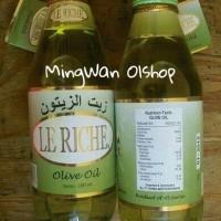 Jual Minyak Zaitun LE RICHE Asli Kemasan 300 ml Murah