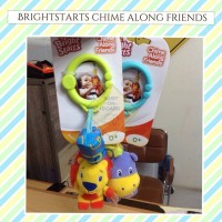 Brightstarts Chime Along Friends Rattle