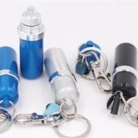 Canister Fuel Zippo Aluminium Tempat Minyak Gantungan Kunci Flint