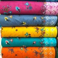 kain batik meteran bahan katun halus primisima motif batik tulis