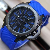 Jam Tangan Pria Quicksilver Rubber Dark Blue