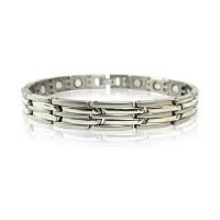 Gelang Amega Mica COMBI Bracelet - Silver