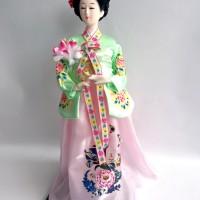 Hanbok Doll - Boneka Khas Korea Selatan Travel Souvenir IX