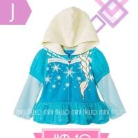 Jaket Anak - Frozen Elsa Blue Jacket (2-7y)