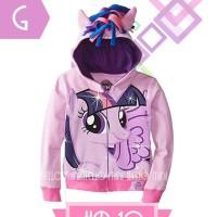 Jaket Anak - Pony Twilight Sparkle Jacket (2-7y)