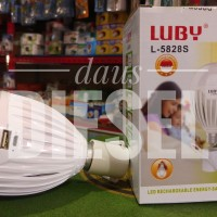 lampu emergency luby l-5828s 18 watt