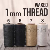 Waxed Leather Thread   benang jahit kerajinan kulit   Leather tools