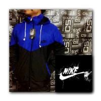 Jaket Parasut Nike Windrunner Blue Black | Jaket Sauna Run Sport