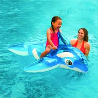 Pelampung Anak Paus  Lil Whale Pool Ride-On 1.52mx1.4m - INTEX 58523