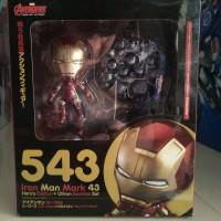 Nendoroid 543 Iron Man Mark 43 Hero Edition Avenger Of Ultron NEW KWS
