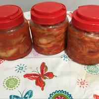 Jual Kimchi sawi putih dan lobak homemade Murah