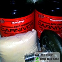 Musclemeds Carnivor Whey Beef Protein Eceran 1 Lbs 1lbs Ecer Repack