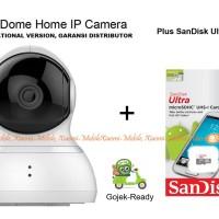 Jual Paket CCTV Xiaomi Dome 360 dengan SanDisk 32GB Garansi 1 Tahun Murah
