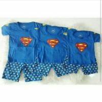 Jual baju anak superman / kaos anak superman / baju bayi / kaos anak cowok Murah