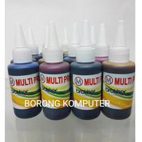 TINTA REFILL ISI ULANG 100ML (PRINTER BROTHER INFUS/REFIL) TINTA KOREA