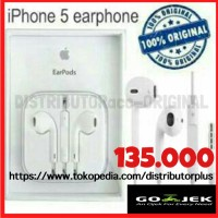 earpod handsfree earphone iphone 4 5 5s 6 6s + ipod 5 6 original