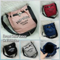 TAS HERMES SO KELLY SELLIER KANVAS