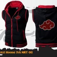 harga Jaket Rompi Akatsuki Vest Anime Naruto Cosplay Tokopedia.com