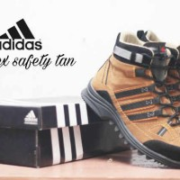 Adidas Obitrex Waterproof Boots Ujung Besi Sepatu Pria Tracking #4