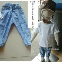 harga joger anak soft jeans (panjang polos) Tokopedia.com
