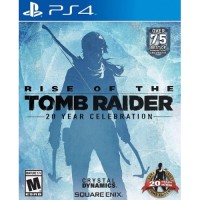 Kaset Game PS4 - RISE OF THE TOMB RAIDER (SECOND)