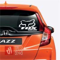 Harga Cutting sticker mobil FOX racing logo panjang 30cm    WIKIPRICE INDONESIA