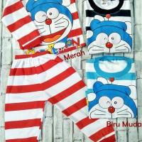 Piyama Anak Baby 1-2thn Baby Doraemon Baju Tidur Setelan Laki Laki Per