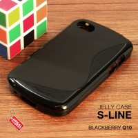 Softcase Back Slim Jelly Silikon TPU Soft Case Cover Blackberry BB Q10