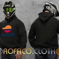 Hoodie Logo Repsol - Hitam