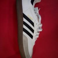 Adidas Samba Classic Leather White Gum Sole