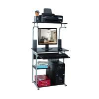 Meja Komputer Tingkat + Rak Bawah [Khusus Jabodetabek]