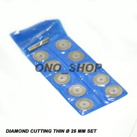 Mata Tuner Diamond Cutting Thin 25mm Set