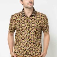 Kemeja Batik Modern Branded Arthesian Original Exclusive HandMade Pria