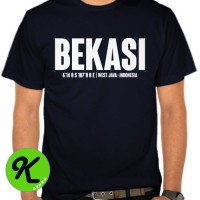 KAOS BEKASI/BAJU/TSHIRT/T-SHIRT BEKASI