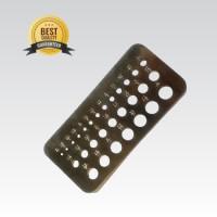 """Drill Gauge 1/16"""" - 1/2"""" ( Top Quality ) Alat Ukur Mata Bor"""
