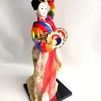 Hanbok Doll - Boneka Khas Korea Selatan Travel Souvenir XI