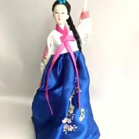 Hanbok Doll - Boneka Khas Korea Selatan Travel Souvenir X