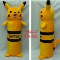 Jual guling pikachu pokemon go LUCU size ukuran besar L grosir murah meriah Murah
