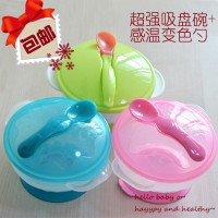 Suction Bowl Mangkok Bayi anti tumpah moms baby balita sendok spoon