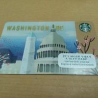 Starbucks card US City 2016 Washington DC