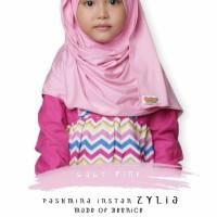 Pashmina Instant Zylia Standard / Pashmina Anak / Jilbab / Kerudung