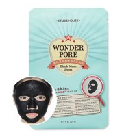Etude House - Wonder Pore Black Mask Sheet 21ml / Sebum Control