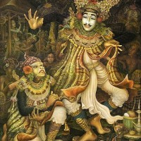 harga Repro Lukisan Dancer Penari Pasangan Bali Pretty Painting Beautiful Tokopedia.com