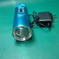 TOOL'S LAMPU SENTER SUPER UV WHITE +ADAPTOR CHARGER
