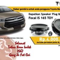 Speaker Focal IS 165 Toy PLUG & PLAY untuk Mobil Toyota