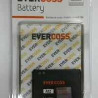 Batre / Batrai / Battery / Baterai EverCross A12